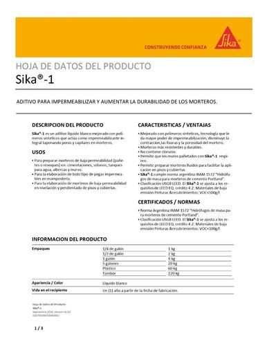sika -1 por 2 kg sika 110200 antes 110000 ue(*12)