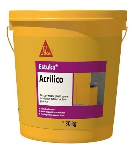 sika estuka acrilico 5/1 * 30 kg 218248
