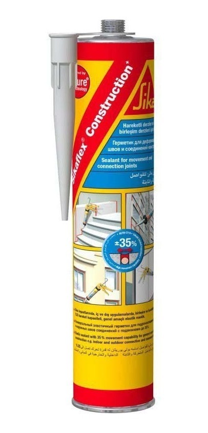 Sika Flex Construction Selante De Poliuretano Branco 300ml
