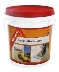 sikacryl sika cryl membrana liquida 5 kgs colores