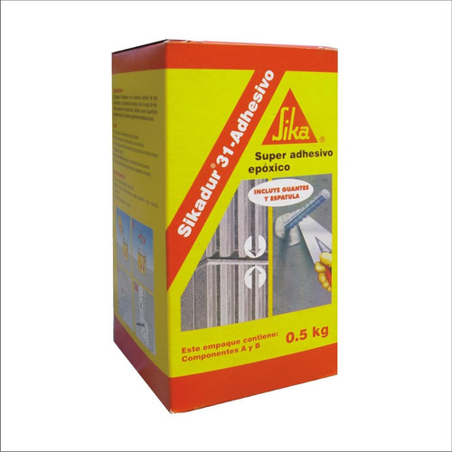 sikadur 31 adhesivo 0.5kg (2 materi) sika 303371 ue(*40)