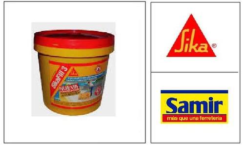 sikafill 3 fibras 1/4 gal blanco sika 621817-01 ue(*12) desc