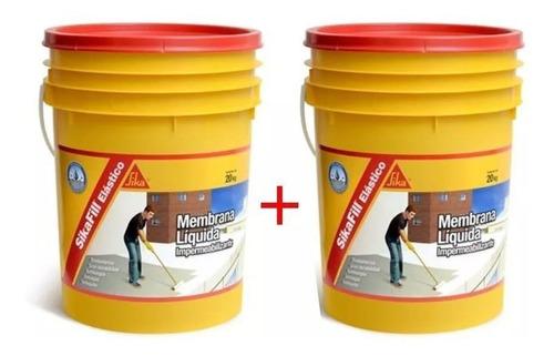 sikafill membrana liquida 2x20k + regalos + envio gratis!