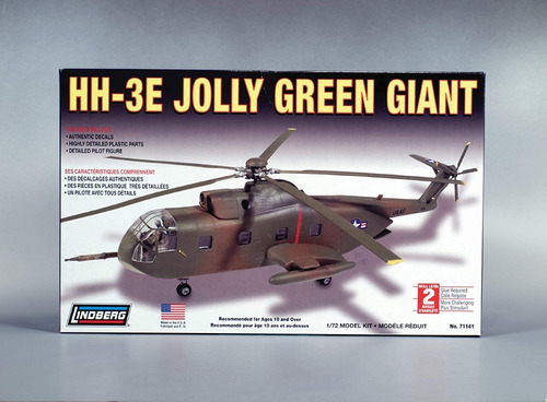 sikorsky hh-3e jolly green giant lindberg  1:72 scal