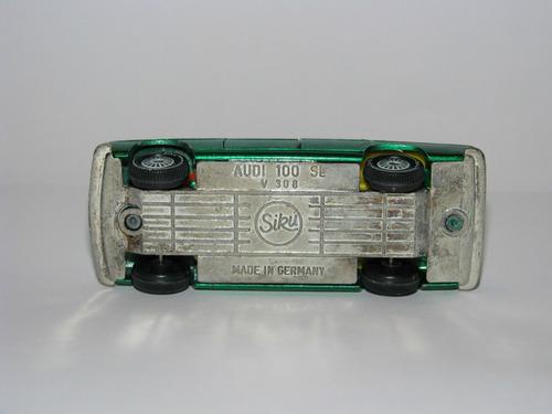 siku vintage 1970s  audi 100 sl  (made in germany)