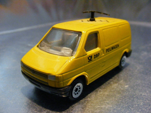 siku - vw caravelle eurovan servicio postal aleman #1