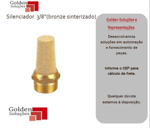 silenciador 3/8 longo (bronze sinterizado)