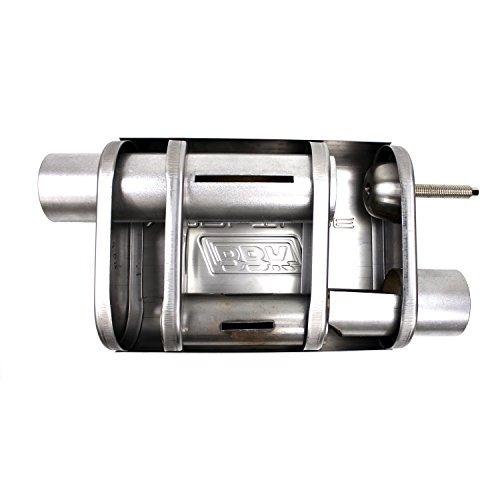 silenciador bbk 31015, acero inoxidable, 2-1 / 2 -inch