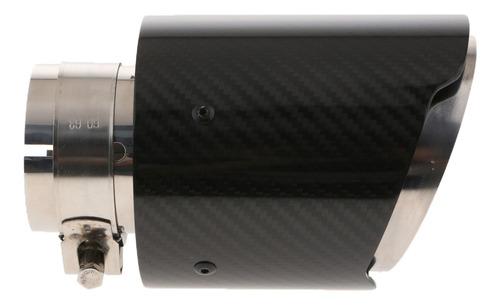 silenciador de escape terminal de cola 63 mm universal auto