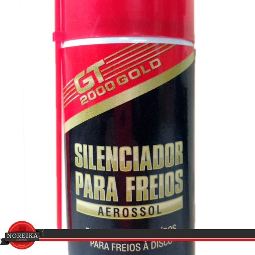 silenciador de freios spray gt 250ml aerossol