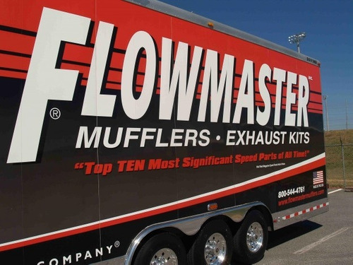 silenciador flowmaster serie 40 meru macho fortuner cherokee