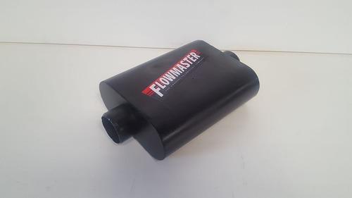 silenciador  resonador para carros serie 40 flowmaster