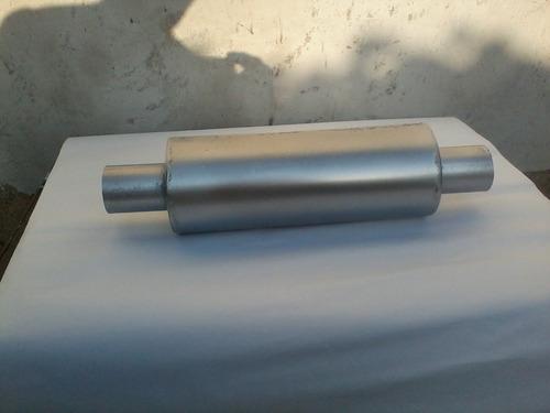 silenciador tubular tipo   flowmaster