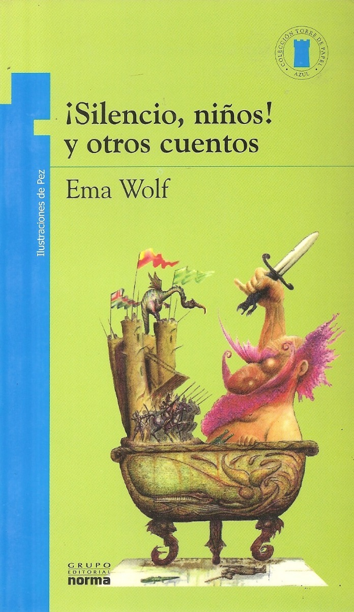 Silencio Niños Y Otros Cuentos - Ema Wolf Ed Norma - $ 285,00 en ...