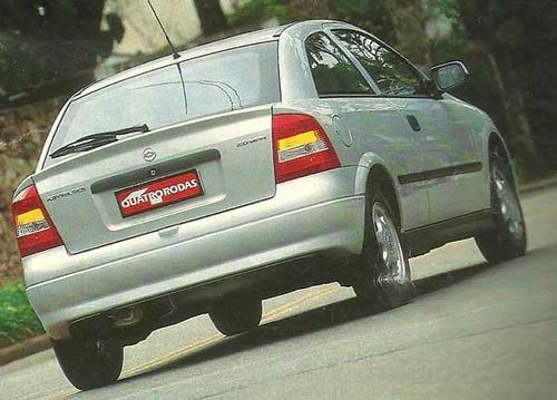 silencioso traseiro astra hatch 98 à 2001 com anel vedação