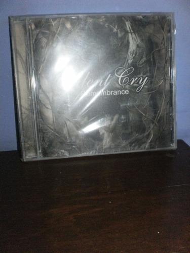 silent cry - remembrance cd importado - brasil nuevo.