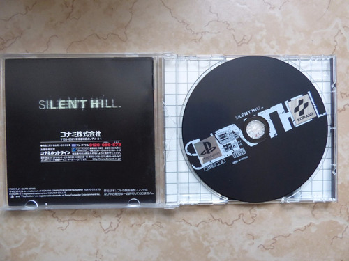 silent hill playstation 1 ps1 japon