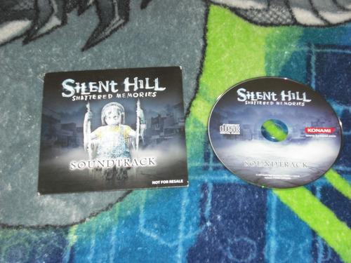 silent hill shattered memories soundtrack en muy buen estado