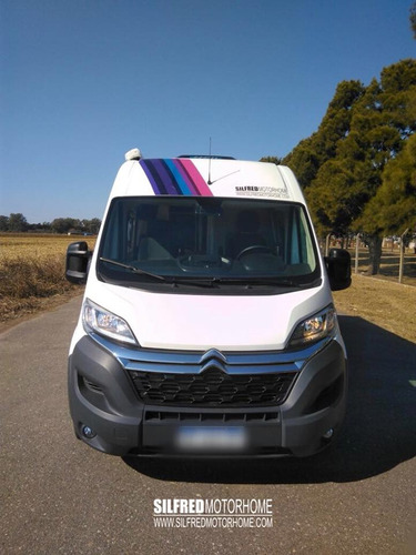 silfred motorhome -equipamiento citroen jumper 2018 3pers.