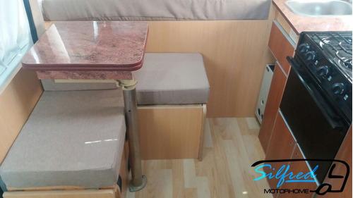 silfred motorhome --equipamiento ducato maxi cargo