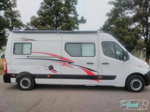 silfred motorhome --equipamiento sprinter 515