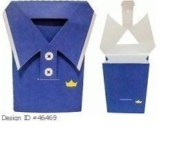 silhouette convites caixa dia dos pais gravata camisa sapato
