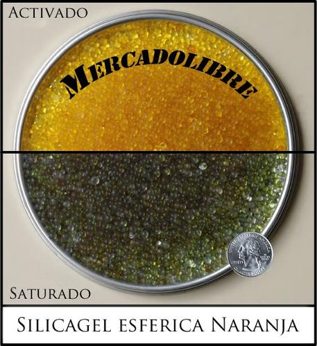 silicagel esférica naranja 2-5 mm. en bolsas de 25 kg.