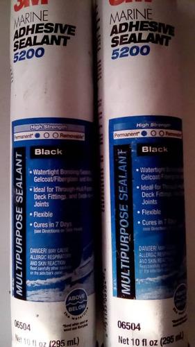 silicón 4200 5200 3m 295ml blanco negro al mayor y detal