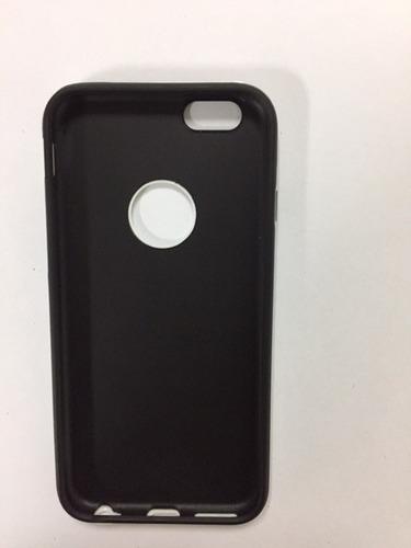 silicon acrilico iphone 6 negro blanco tienda virtual