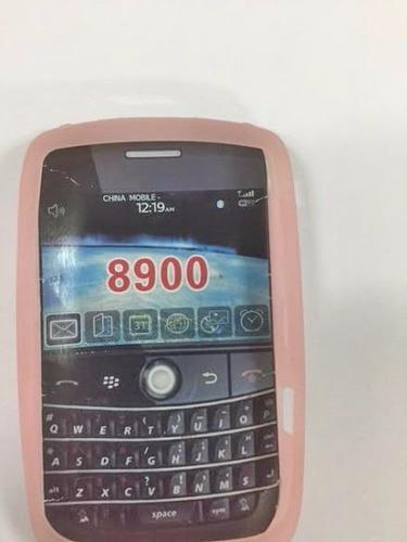 silicon blackberry 8900 sencillo rosado tienda virtual
