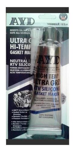 silicon gris grey 85 gramos alta temperatura sl85gr1 spc