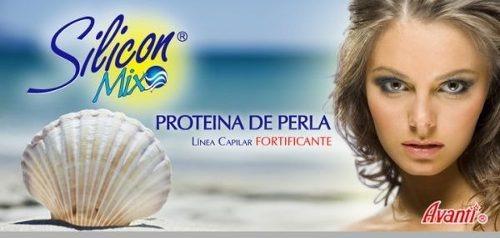 silicon mix proteina de perla (pérola) 450g - pronta entrega