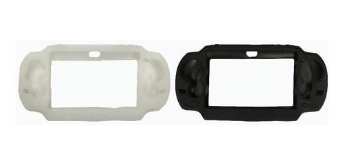 silicon psp 2000 y 3000/ silicon psvita / negro y blanco