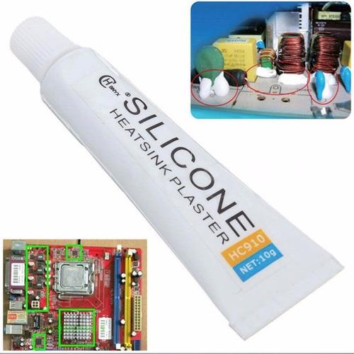 silicona adhesiva termica pega 10g hc910 disipador radiador
