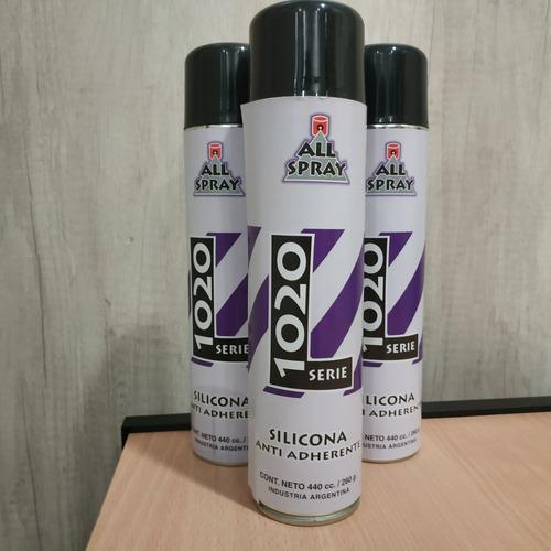 silicona aerosol l1020 enfriador de cuchilla 440cc allbond