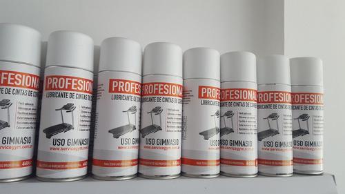 silicona cintas correr aerosol profes lubricante servicegym