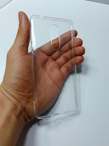 silicona clear  protector nokia 5 ultra slim