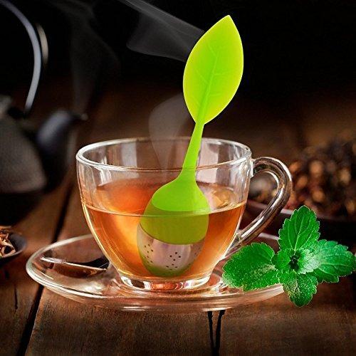 silicona de infuser del té de la hoja del tamiz por bienest