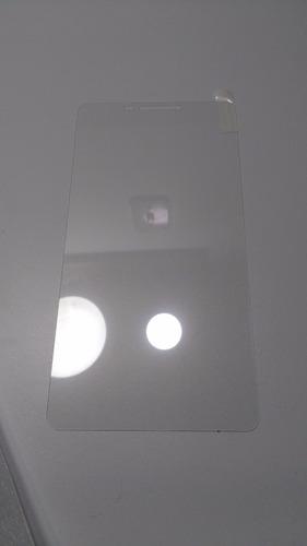 silicona de protección lenovo phab pb1-750n  + templado 6,98