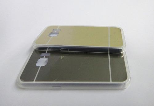 silicona estuche forro  protector tipo espejo samsung s7
