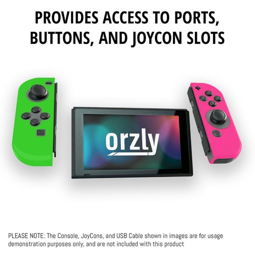 silicona joy con nintendo switch protectora 4 unidades orzly