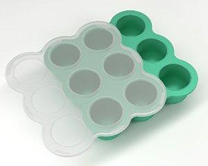silicona multiportion baby food congelador bandeja- seguro y