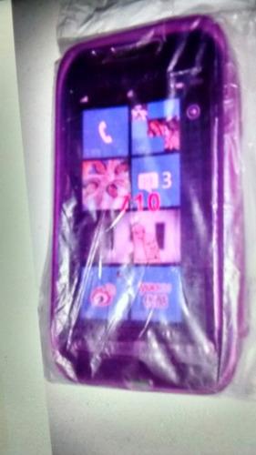 silicona nokia lumia 710 + envío a647