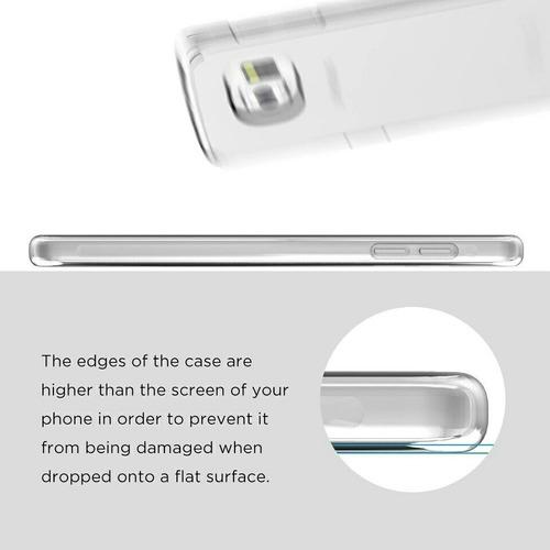 silicona para teléfonos samsung trasparente antideslizantes