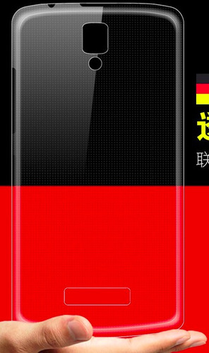 silicona protector  lenovo a2010 transparente ultra slim