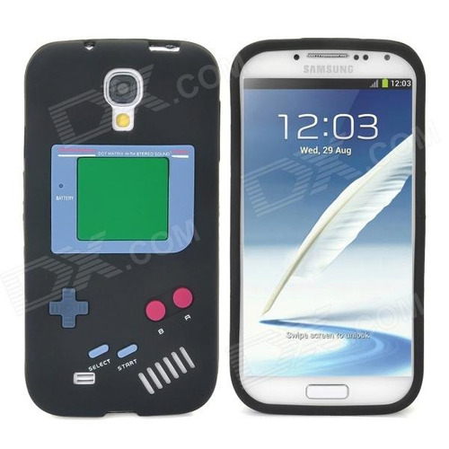 silicona retro game boy samsung galaxy s4 diseño exclusivos!