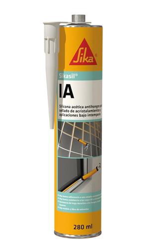 silicona sika sil ia negra*300ml anti-hongos 271596-02 ue(*1