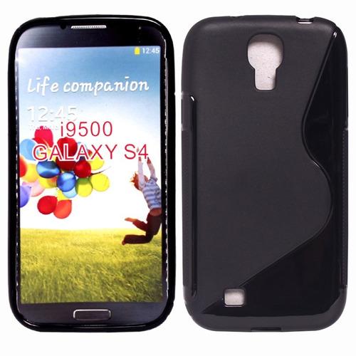 silicona tpu para celular galaxy s4 i9500 estilo s