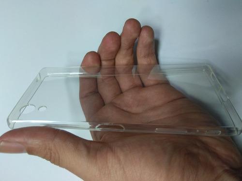 silicona ultra slim estuche  protector sony xperia z5