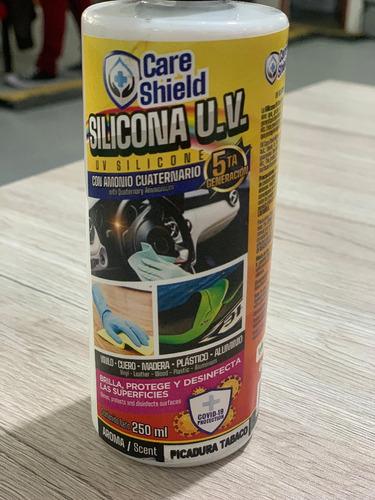 silicona uv con desinfectante 5ta generación